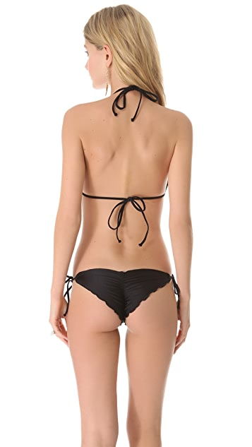 Luli Fama Cosita Buena Bandeau Bikini Top