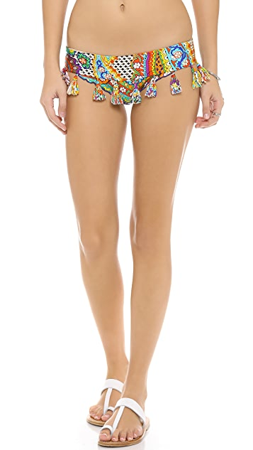 Luli Fama Samba Caracol Bikini Bottoms