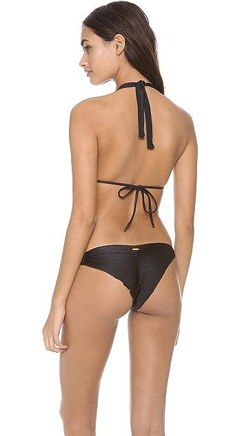 Luli Fama Verano de Rumba Triangle Bikini Top