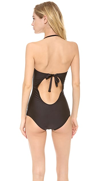 Luli Fama Pasion Y Arena Bandeau One Piece Swimsuit