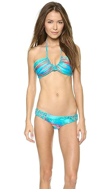 Luli Fama Mermaid Glitter Bikini Bottoms