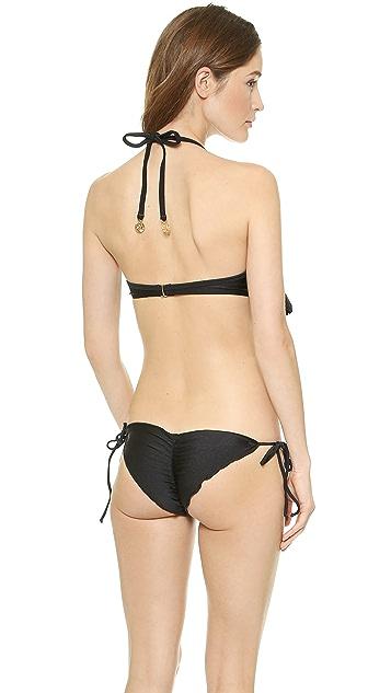 Luli Fama Wild Card Cascade Bikini Top