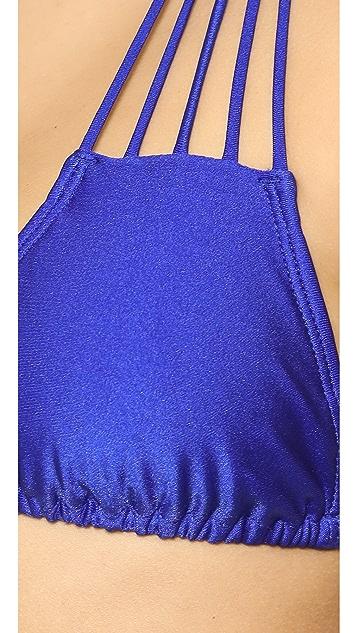 Luli Fama Verano De Rumba String Bikini Top