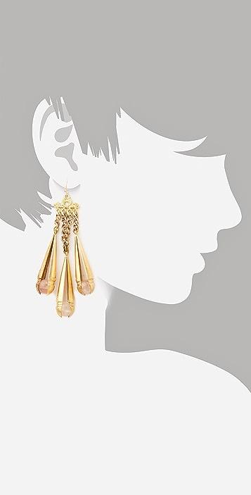 Lulu Frost Triple Beach Plum Earrings