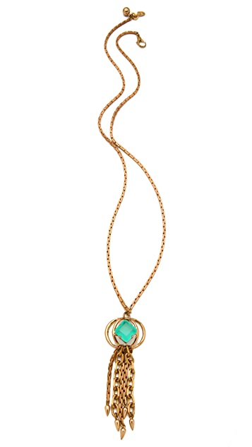 Lulu Frost Althea Tassel Necklace