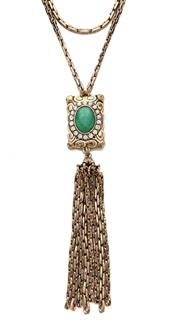 Lulu Frost Immortality Tassel Necklace