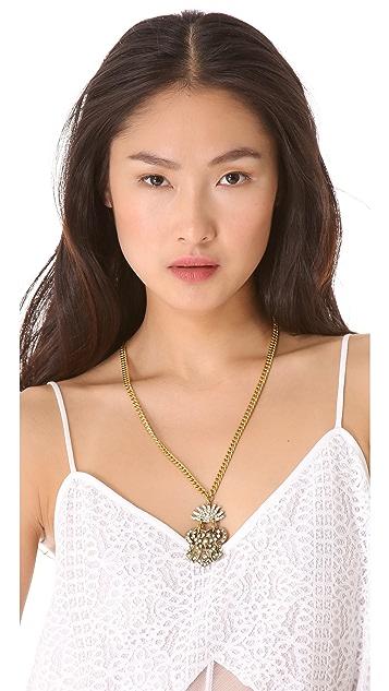 Lulu Frost Crest Pendant Necklace