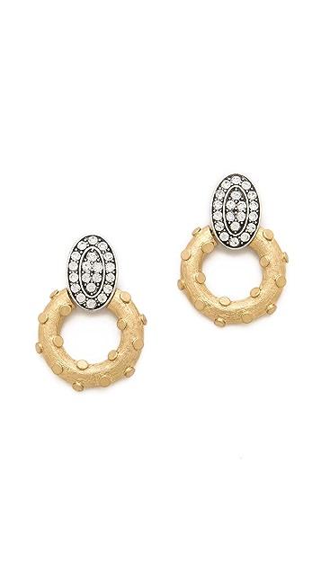 Lulu Frost Lunar Earrings