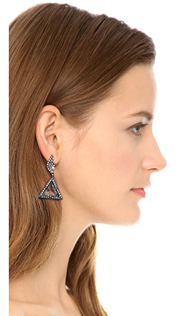 Lulu Frost Winged Glory Earrings