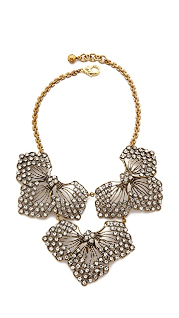 Lulu Frost Cactus Flower Statement Necklace