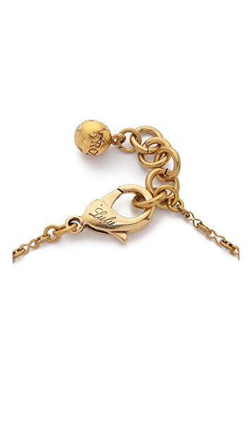 Lulu Frost Lake Charm Necklace