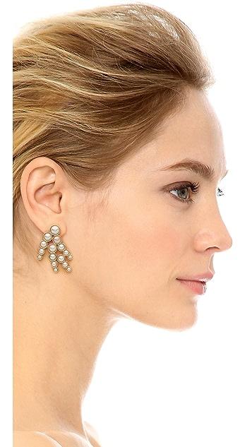 Lulu Frost Lustre Spray Earrings