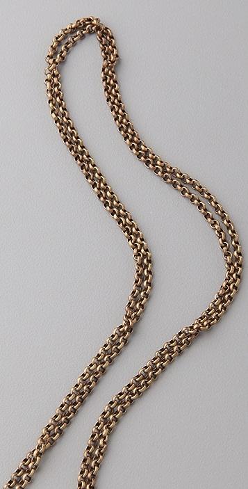 Luv Aj Mini Crystal Cluster Necklace