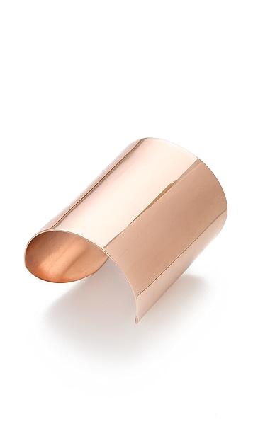 Luv Aj Plain Tall Cuff Bracelet