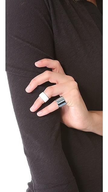 Luv Aj Tall Plain Ring