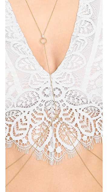 Luv Aj The Pave Marquise Body Chain