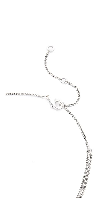 Luv Aj The Sihor Charm Necklace