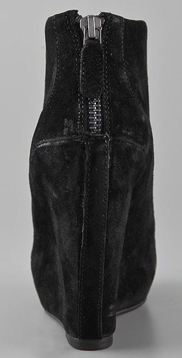 Luxury Rebel Shoes Kai Suede Platform Booties
