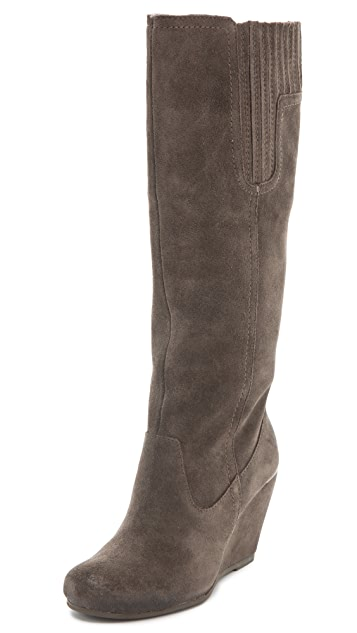Luxury Rebel Shoes Effie Wedge Boots