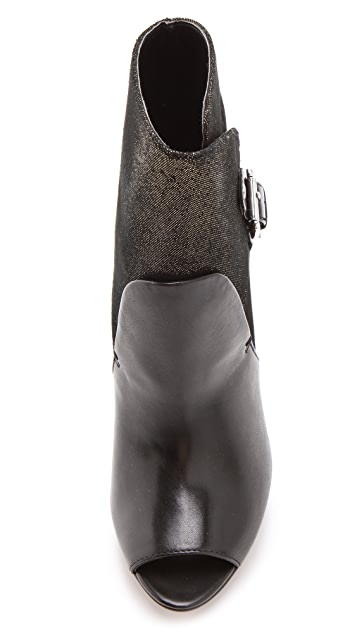 Luxury Rebel Shoes Waverly Open Toe Booties