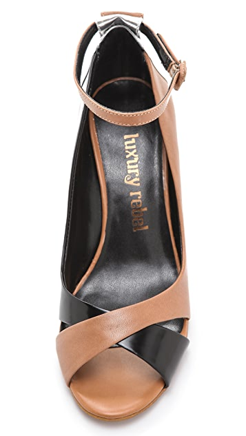 Luxury Rebel Shoes Cutie Demi Wedge Sandals