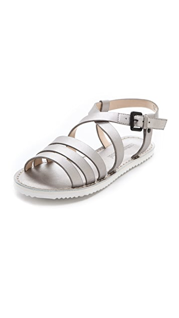 Luxury Rebel Shoes Selma Sport Flat Sandals