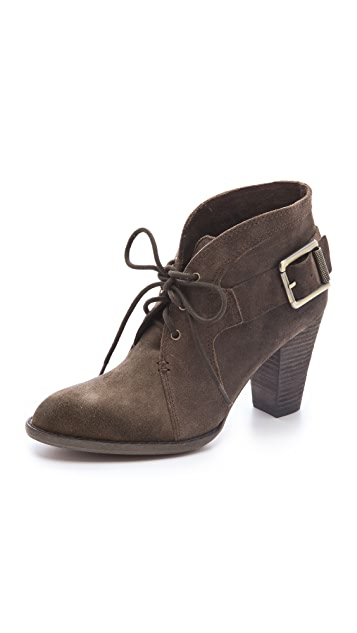 Luxury Rebel Shoes Fleur Lace Up Booties