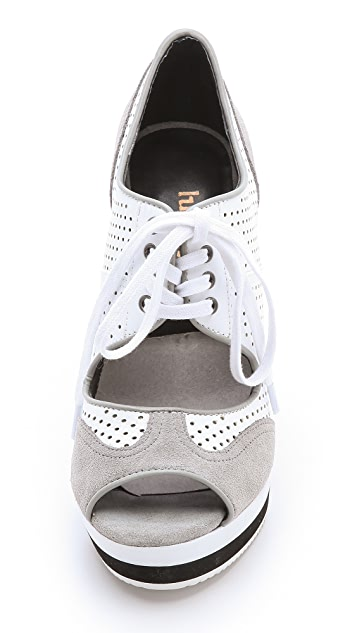 Luxury Rebel Shoes Dexter Wedge Sneakers