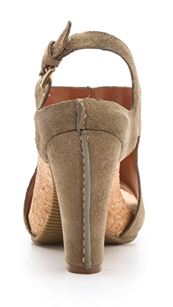 Luxury Rebel Shoes Chad Cork Footbed Sandals