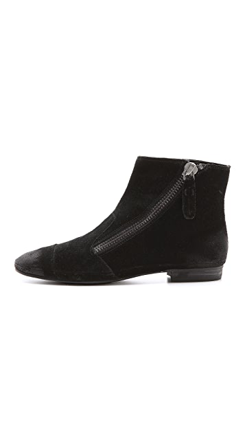 Luxury Rebel Shoes Pago Suede Booties