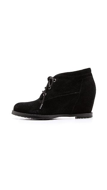 Luxury Rebel Shoes Dex Suede Booties