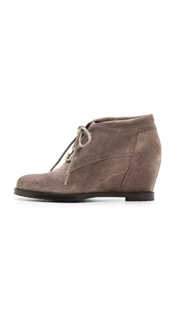 Luxury Rebel Shoes Dex Suede Booties