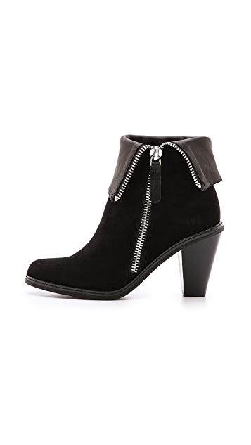 Luxury Rebel Shoes Pandora Zip Booties