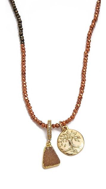 Lindsay Vallan The Lauren Wrap Necklace