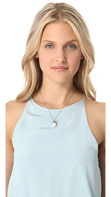 Lauren Wolf Jewelry Pendant Necklace with Cultured Freshwater Pearl