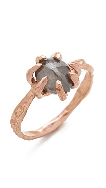 Lauren Wolf Jewelry Rose Cut Diamond Ring