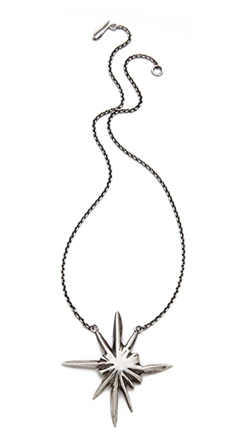 Lauren Wolf Jewelry Single Tri Star Necklace