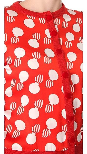 L'Wren Scott Bomb Print Cardigan