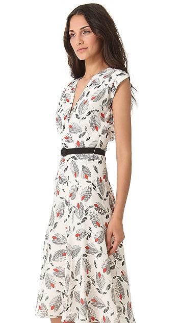 L'Wren Scott Sleeveless Printed Dress