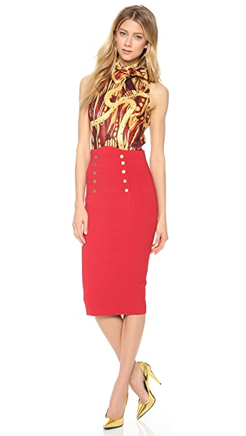 L'Wren Scott Sleeveless Blouse
