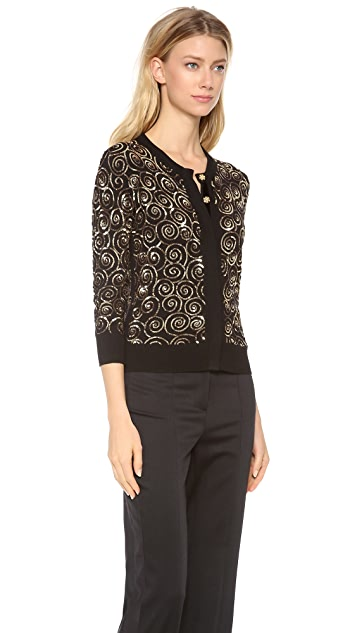 L'Wren Scott Sequin Detailed Cardigan