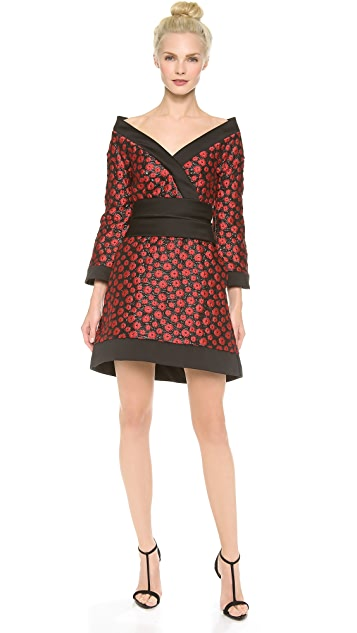 L'Wren Scott Kimono Mini Dress