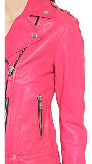 Mackage Кожаная байкерская куртка Florica