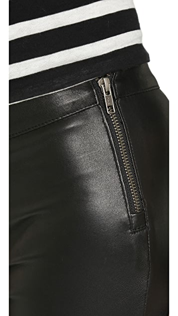 Mackage Stretch Leather Pants