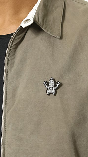 Macon & Lesquoy Robot Pin