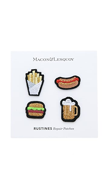Macon & Lesquoy Junk Food Patch Set