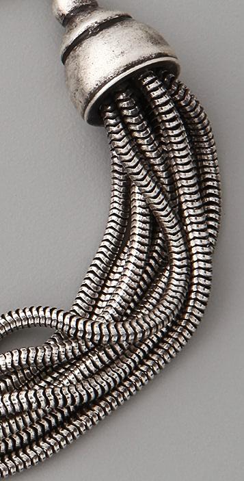 Made Her Think Victorian Snake ID Bracelet