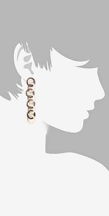 Made Her Think Linked Links Earrings