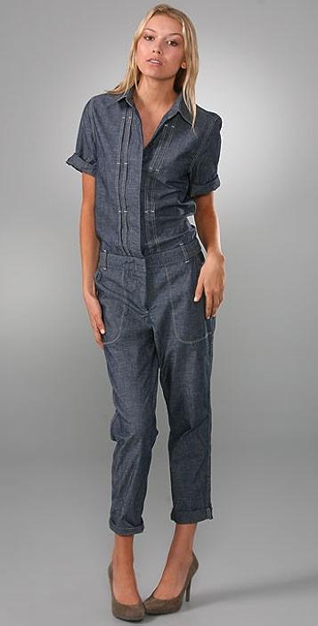 Madewell Short Sleeve Jumpsuit