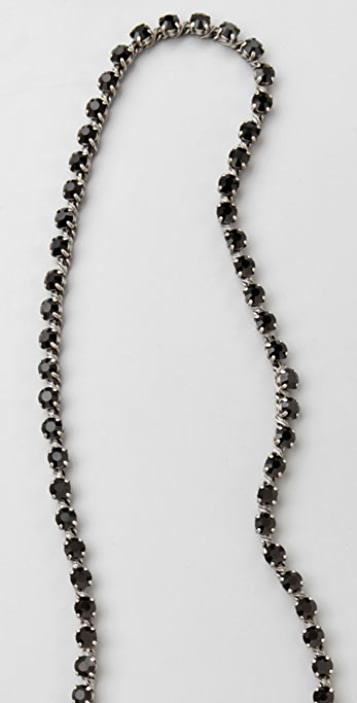 Madewell Long Rhinestone Necklace